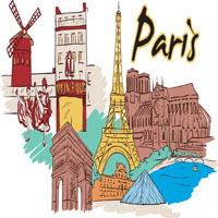 Holiday lettings in Paris, France